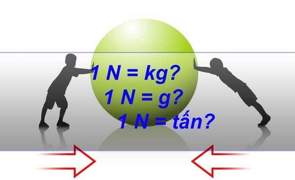 Giải đáp thắc mắc 1 newton bằng bao nhiêu kg. Cách quy đổi chính xác